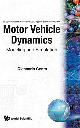 9789810229115: Motor Vehicle Dynamics: Modeling and Simulation