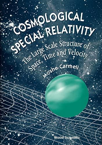 9789810230791: Cosmological Special Relativit