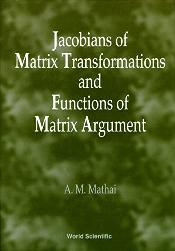 9789810230951: Jacobians of Matrix Transformation and F