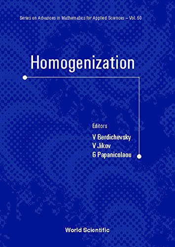 9789810230968: Homogenization: In Memory of Serguei Kozlov (Series