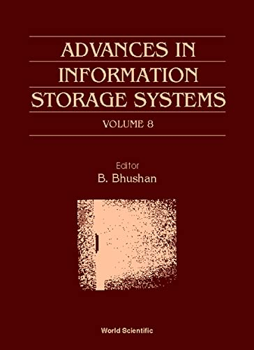 9789810233471: Advances in Information Storage Systems, Volume 8