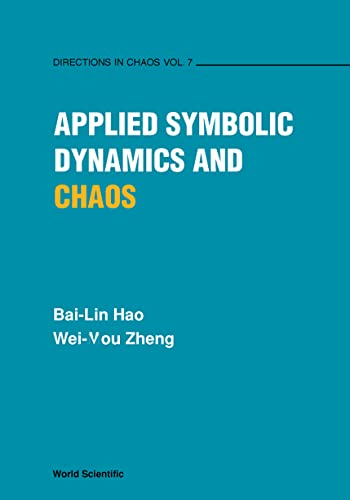 9789810235123: Applied Symbolic Dynamics and Chaos (Direction in Chaos)