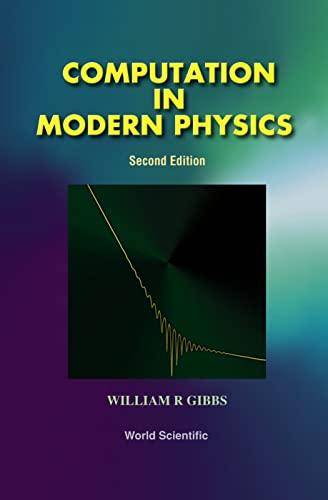 9789810240141: Computation in Modern Physics (Second Edition)