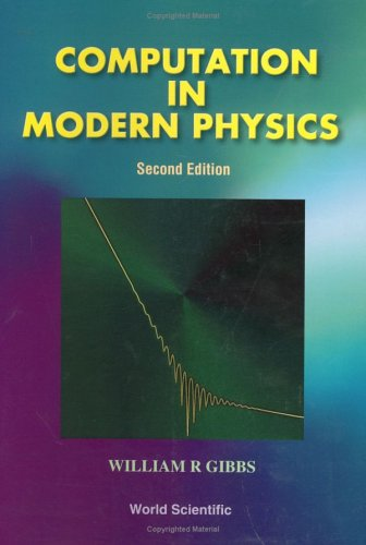 9789810240158: Computation in Modern Physics (Second Edition)