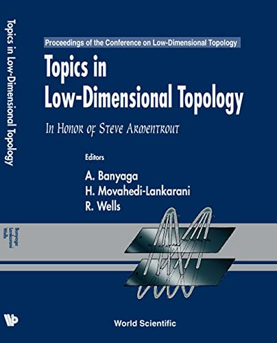 9789810240509: Topics in Low-Dimensional Topology: In Honor of Steve Armentrout - Proceedings of the Conference
