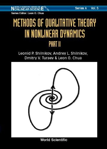 9789810240721: Methods of Qualitative Theory in Nonlinear Dynamics Part 2. World Scientific Series on Nonlinear Science, Series A, Volume 5 (Pt. 2)