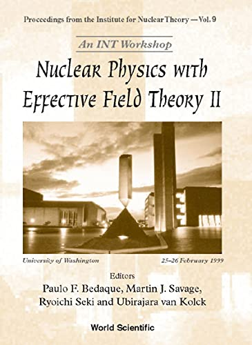 9789810241810: Nuclear Physics with Effective Field Theory II
