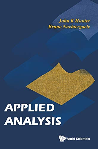 Applied Analysis: J. K. Hunter;