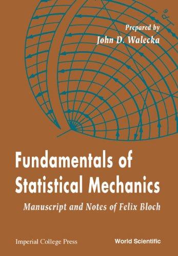 9789810244194: Fundamentals of Statistical Mechanics: Manuscript and Notes of Felix Bloch