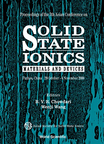 9789810244927: Solid State Ionics