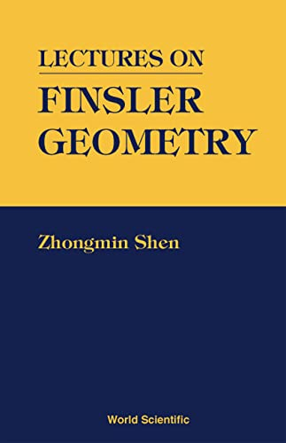 9789810245306: Lectures on Finsler Geometry