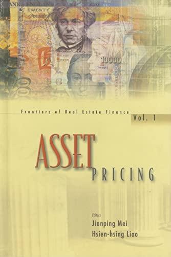 9789810245634: Asset Pricing