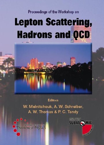 Lepton Scattering, Hadrons And Qcd Proceedings