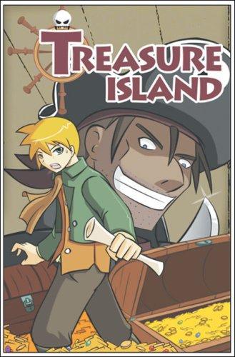9789810549428: Treasure Island (Manga Literary Classics series)