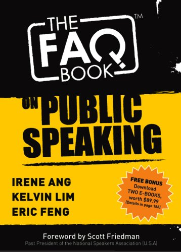 9789810594626: The FAQ Book on Public Speaking