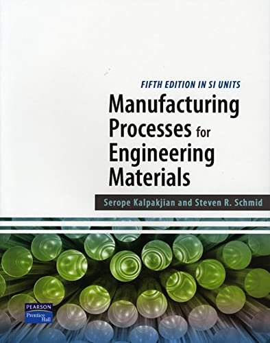 Manufacturing Processes for Engineering Materials SI: Kok, Chih-Wah