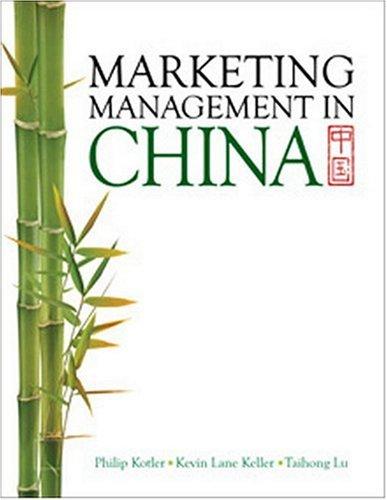 Marketing Management in China: Philip Kotler, Kevin