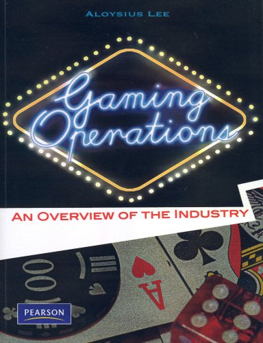 9789810680732: Gaming Operations: An Overview of the Industry