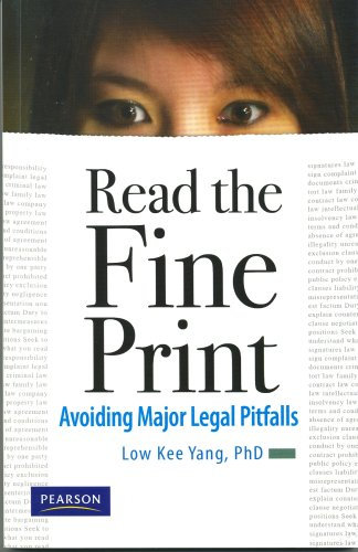 9789810680817: Read The Fine Print : Avoiding Major Legal Pitfalls
