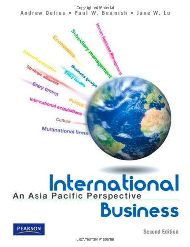 9789810684204: International Business: An Asia Pacific Perspective