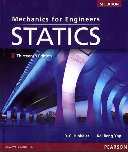9789810692605  Mechanics For Engineers  Statics  Si Editon - Abebooks