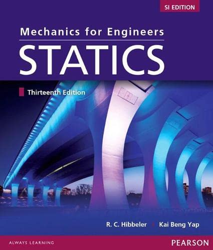 9789810692865: Mechanics for Engineers:Statics SI Study Pack