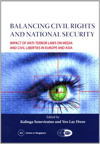 9789810709099: Balancing Civil Rights and National Security: Impact of Anti-Terror Laws on Media and Civil Liberties in Europe and Asia