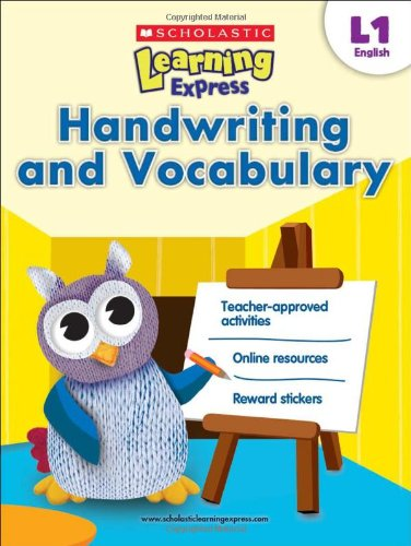 9789810713584: Scholastic Learning Express Level 1: Handwriting and Vocabulary