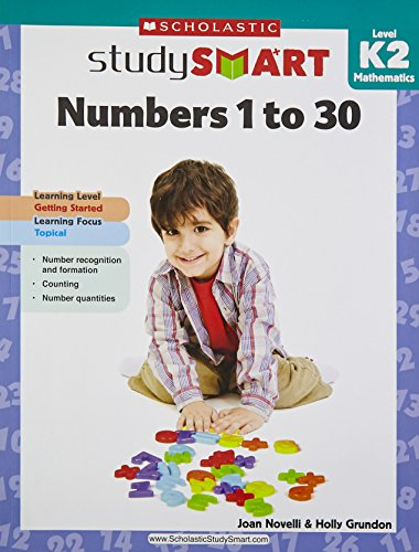 9789810713768: Scholastic Study Smart: Numbers 1 to 30