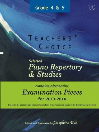 Teachers' Choice: Selected Piano Repertory & Studies: Various