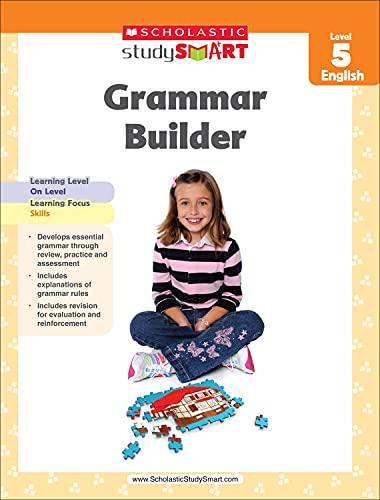 9789810752606: Scholastic Study Smart Grammar Builder Grade 5