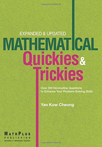 9789810854126: Mathematical Quickies & Trickies