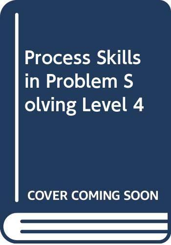 9789810886080: Process Skills in Problem Solving, Level 4