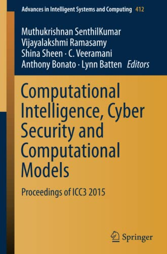 Computational Intelligence, Cyber Security and Computational Models: