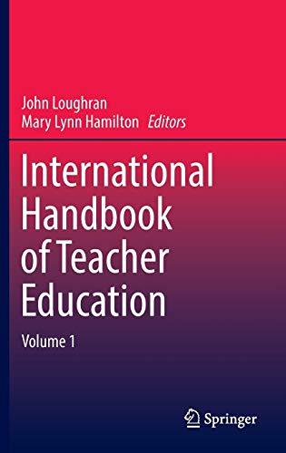 9789811003646: International Handbook of Teacher Education: Volume 1