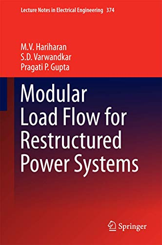 Modular Load Flow for Restructured Power Systems: M.V. Hariharan