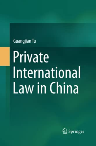 9789811006753: Private International Law in China