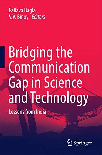 9789811010248: Bridging the Communication Gap in Science and Technology: Lessons from India