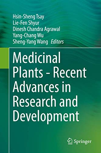 9789811010842: Medicinal Plants - Recent Advances in Research and Development