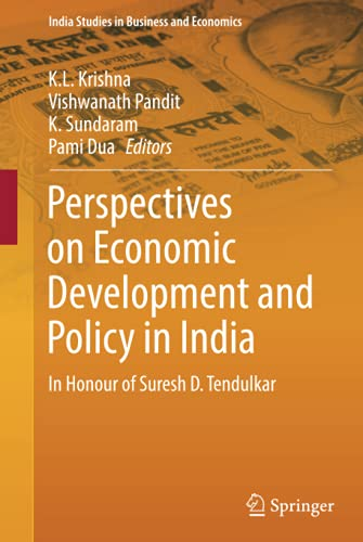 Perspectives on Economic Development and Policy in: Krishna, K.L. (Edited
