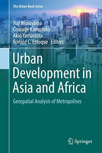 Urban Development in Asia and Africa: Yuji Murayama (editor),