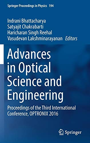 Advances in Optical Science and Engineering: Proceedings