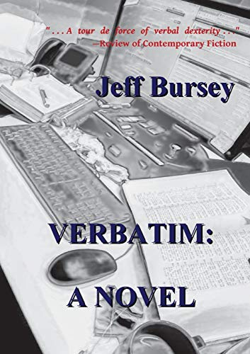 9789811158292: Verbatim: A Novel