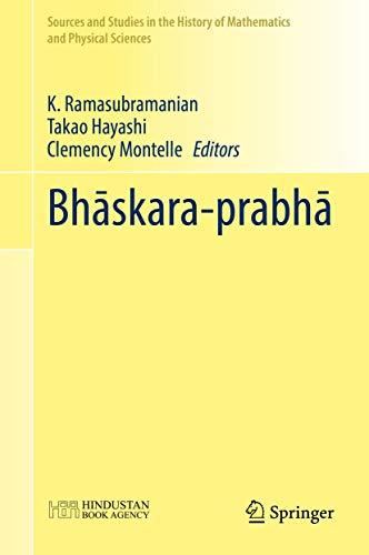 Bhaskara-Prabha: K. Ramasubramanian (editor),