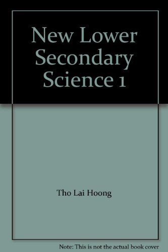 9789812084422: New Lower Secondary Science 1