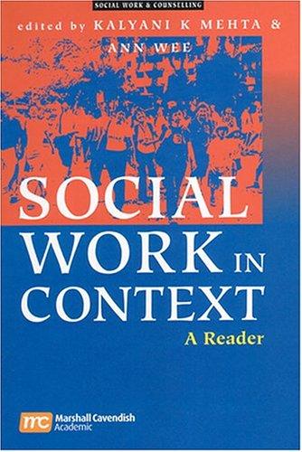 9789812103109: Social Work in Context - A Reader