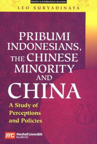Pribumi Indonesians, the Chinese Minority and China: Society of Singapore