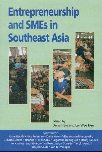 9789812302519: Entrepreneurship and SMEs in Southeast Asia