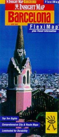 9789812341808: Barcelona Insight Fleximap (Insight Flexi Maps)