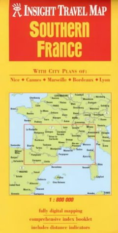 9789812345394: Southern France Insight Travel Map